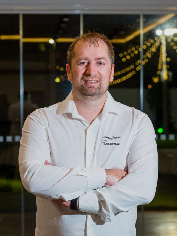 Claudio Vidal, chef de Casa Claudio